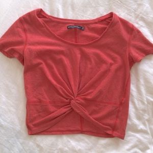 Abercrombie crop twist top like new